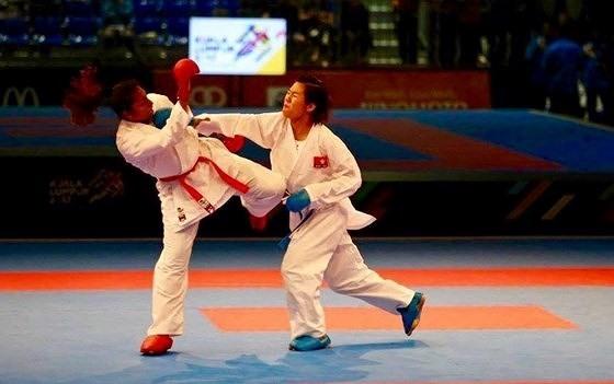 Karateka Ngoan aims for gold at Asian championship