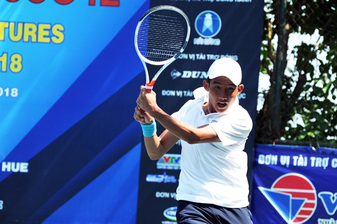 Vietnamese players ousted from VN F2 tennis event