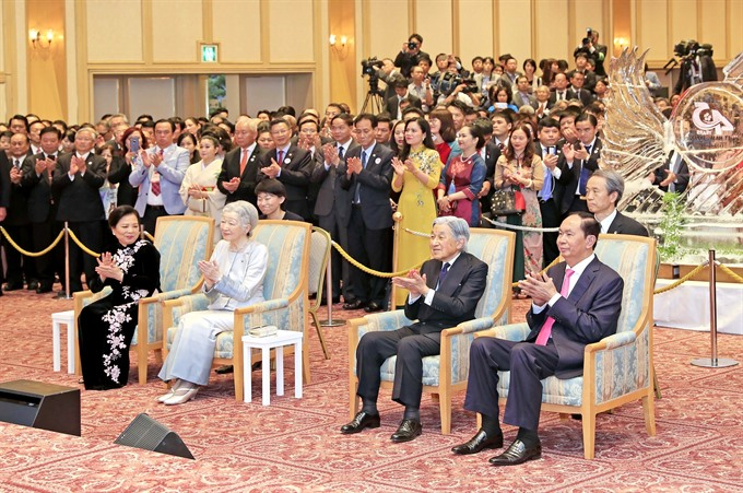 Ceremony marking 45th anniversary of Việt Nam - Japan ties held in Tokyo