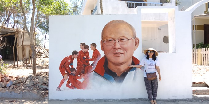 Fishing village launches new mural paintings