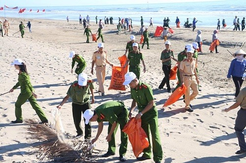 Coastal areas raise awareness on marine protection