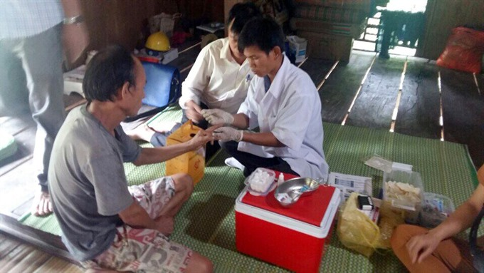 Việt Nam begins testing HIV through saliva