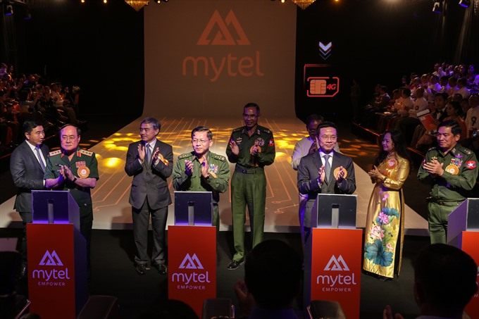 Viettel launches its 10th international mobile phone service in Myanmar