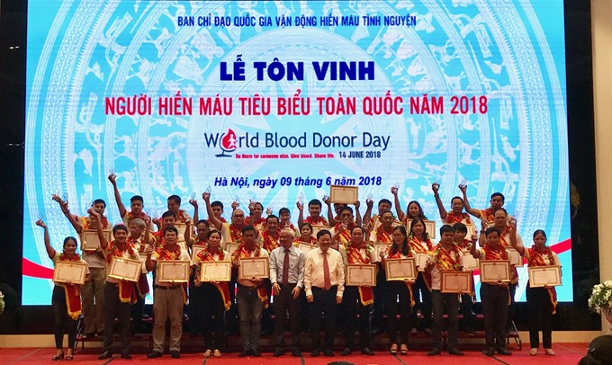 Man dedicated to blood donation