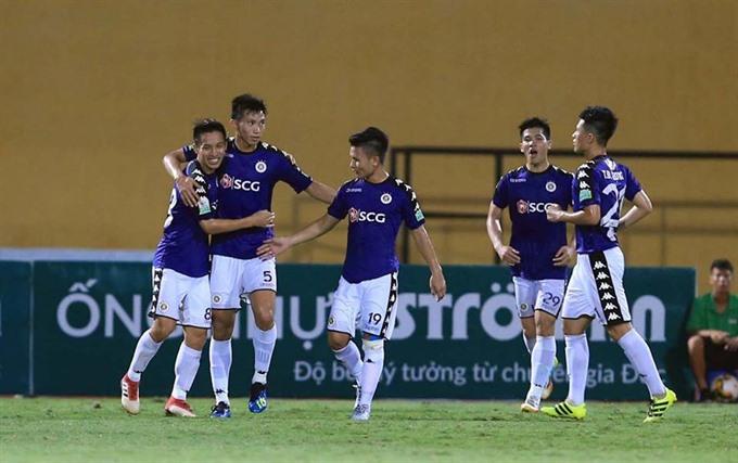 Hà Nội beat defending champions Quảng Nam