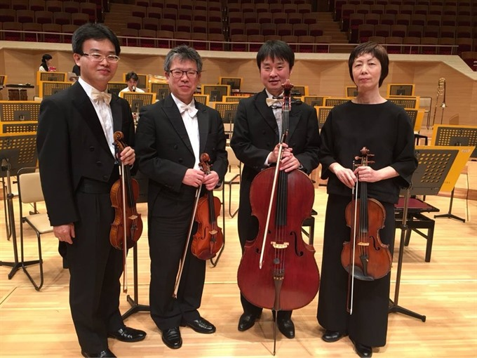 Japanese quartet to take the stage in Đà Nẵng