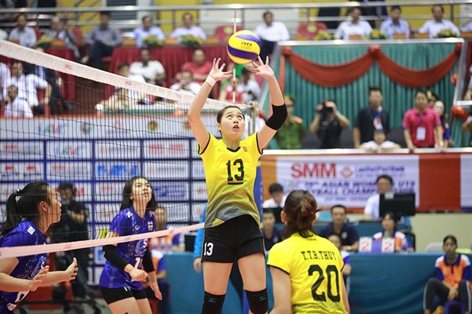 VN lose to Thailand in Asian volleyball event