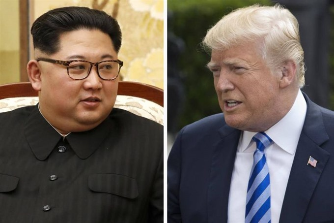 Trump Kim arrive for US-North Korea summit