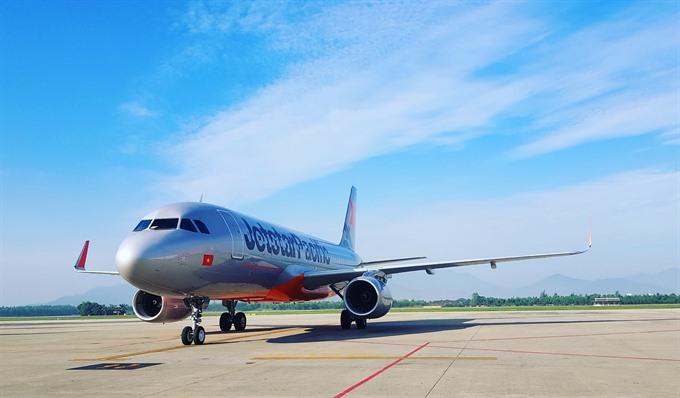 Jetstar begins on-line flight plan