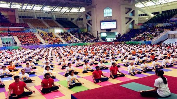 Việt Nam to observe International Day of Yoga