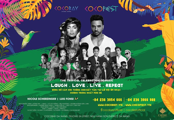 The CoCofest 2018 – international music festival