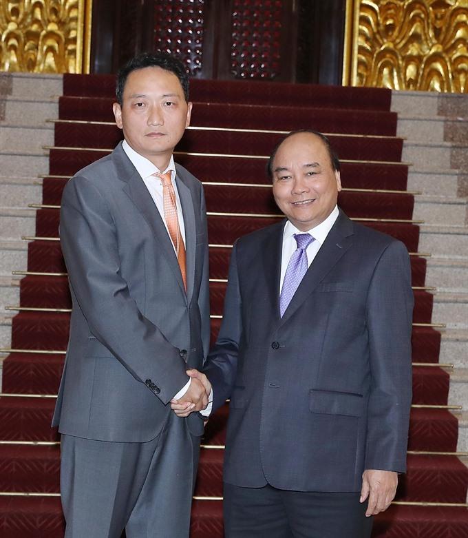 PM Nguyễn Xuân Phúc welcomes new RoK Ambassador