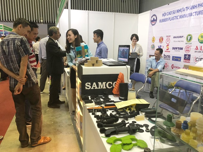 Intl exhibitions open in HCMC
