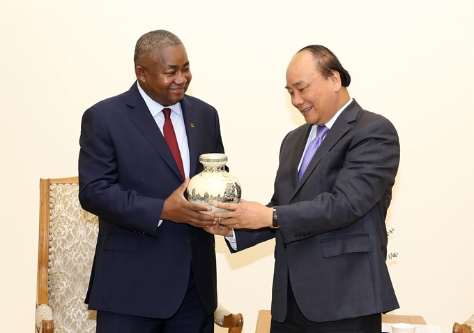 Prime Minister receives Mozambican Ambassador