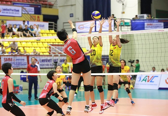 VN lose to Japan at Asian volleyball event