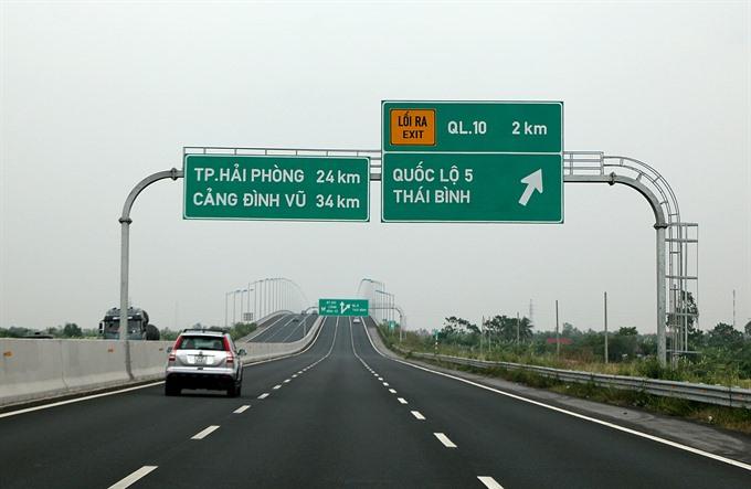 Hà Nội-Hải Phòng Expressway incurs losses
