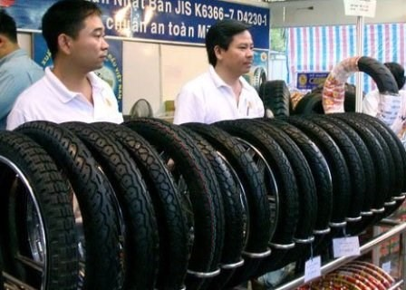Made-in-Việt Nam tyres present in 128 markets