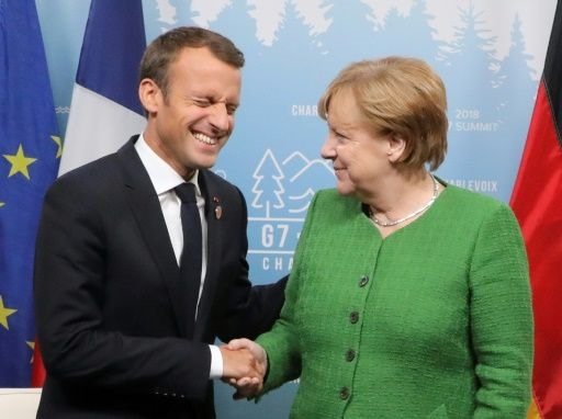Merkel Macron to talk EU reform in shadow of migrant crisis