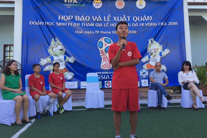 VN kids to join World Cup side event