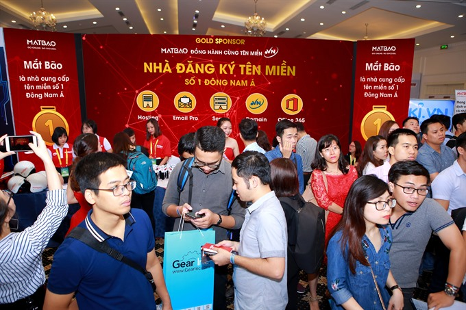Number of .vn domain names surges to 444860