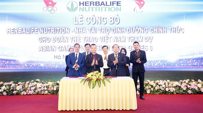 Herbalife Nutrition announces sponsorship deal with Vietnam athletics federations