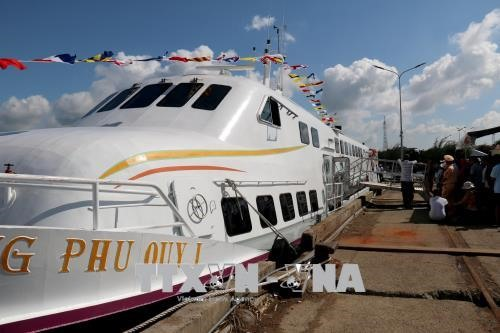 1 more high-speed boat service to Phú Quý Island