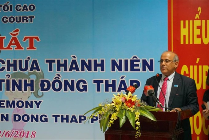 Đồng Tháp establishes Family Juvenile Court