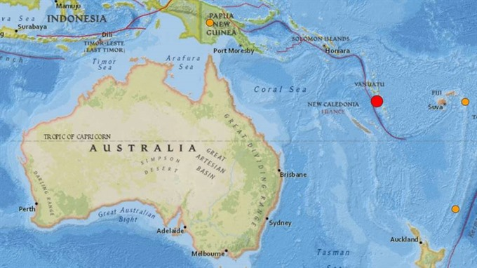 Powerful 6.1-magnitude quake strikes Vanuatu: USGS