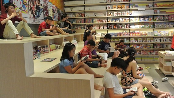 HCM City sorely lacks reading spaces for kids