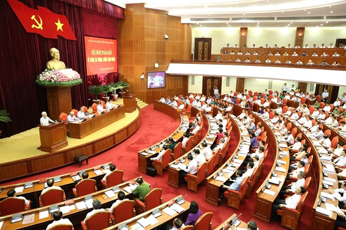 Partys anti-corruption conference commences in Hà Nội