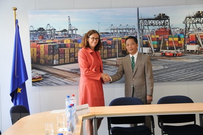 Legal review for Việt Nam-EU FTA concludes