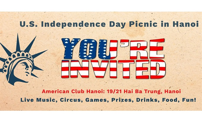 Independence Day bash at American Club