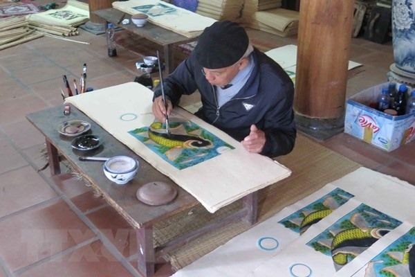 Authorities seek UNESCO recognition for Đông Hồ painting