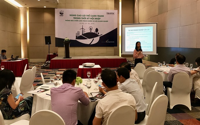 Vietnamese German businesses commit to fight wildlife crimes