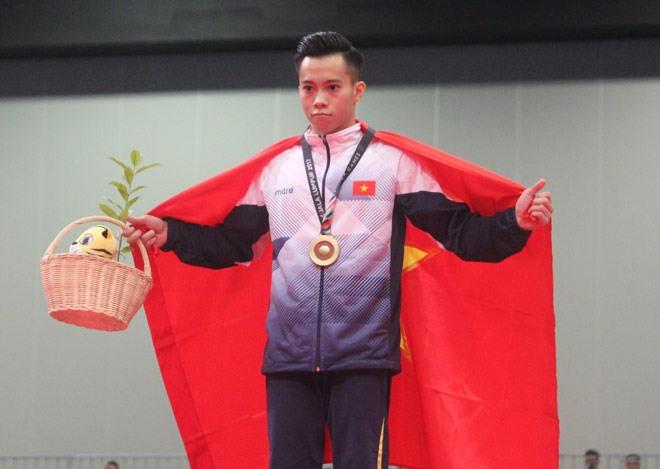Vietnamese gymnast won gold at World Challenge Cup 2018