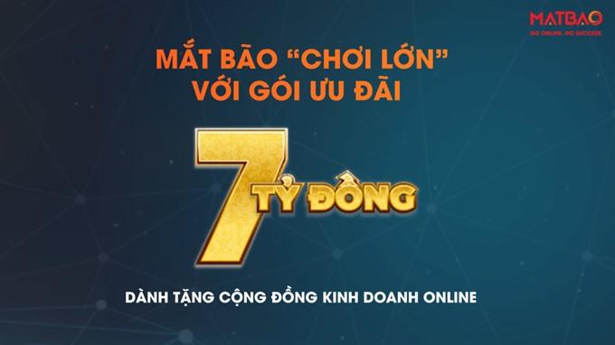 Domain registrar Mắt Bão offers huge discounts at Vietnam Mobile Day