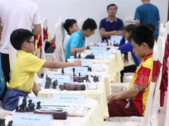 HCM City wins 2 golds in chess tourney
