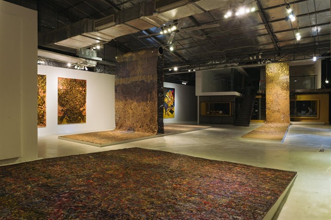 Young artists offer contemporary exhibitions