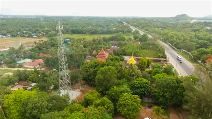 Vietnamese telecom company introduces unbelievable 4G service in Golden Pagoda country