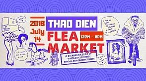 Thảo Điền Flea Market at Saigon Outcast