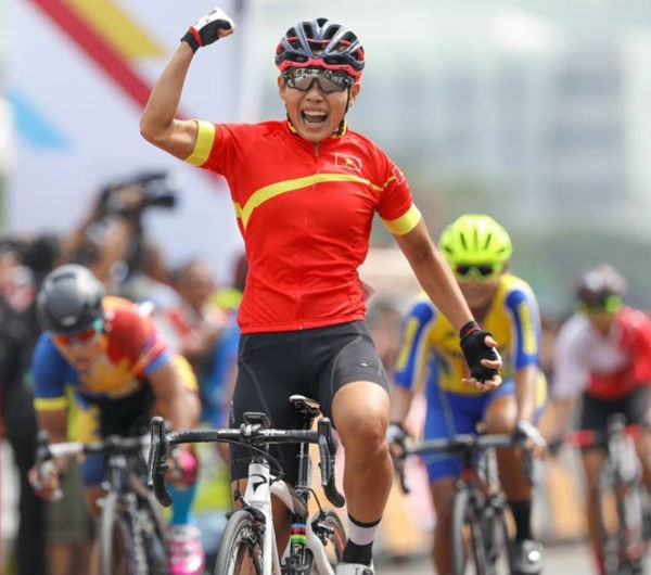 Thật climbs two places in world cycling rankings