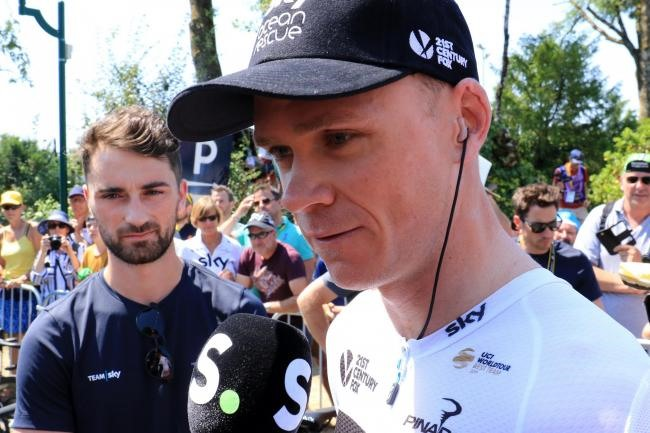 Froome booed as BMC edge Sky in team time-trial