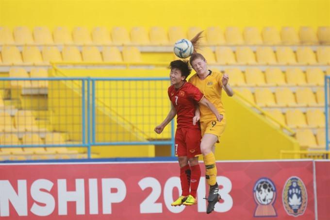 Việt Nam lose to Australia in AFF semi-finals