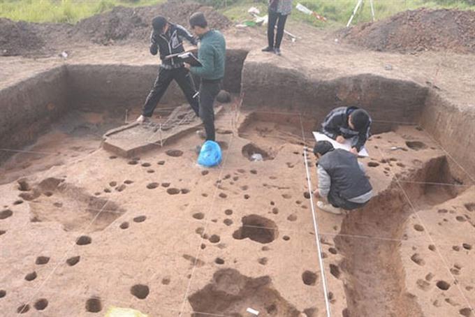Hà Nộis first human settlement under threat