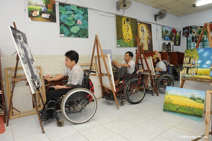 Maison Chance opens centre for quadriplegic people in Đắk Nông