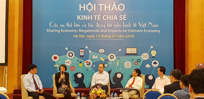 Sharing economy and opportunities in Việt Nam