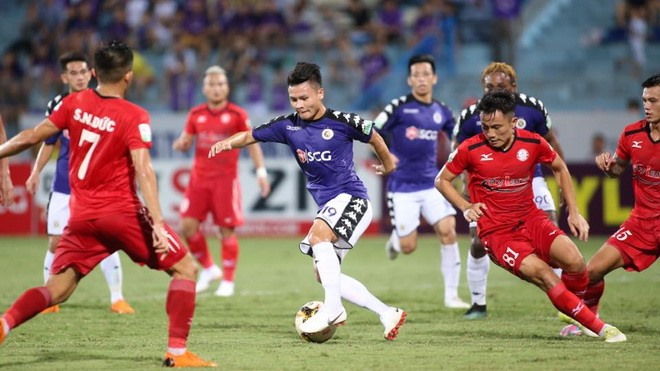 Hà Nội vs Nam Định ends in a draw