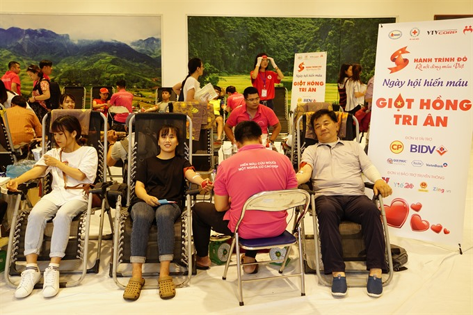 Red Journey campaign collects 45000 units of blood