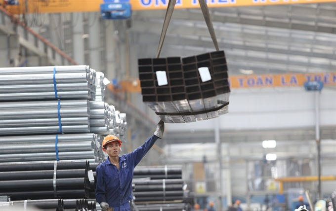 Hòa Phát steel pipes sale rise 14.8% in H1