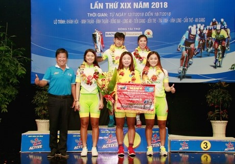 Supaksom Nuntana wins sixth stage of An Giang Television Cup